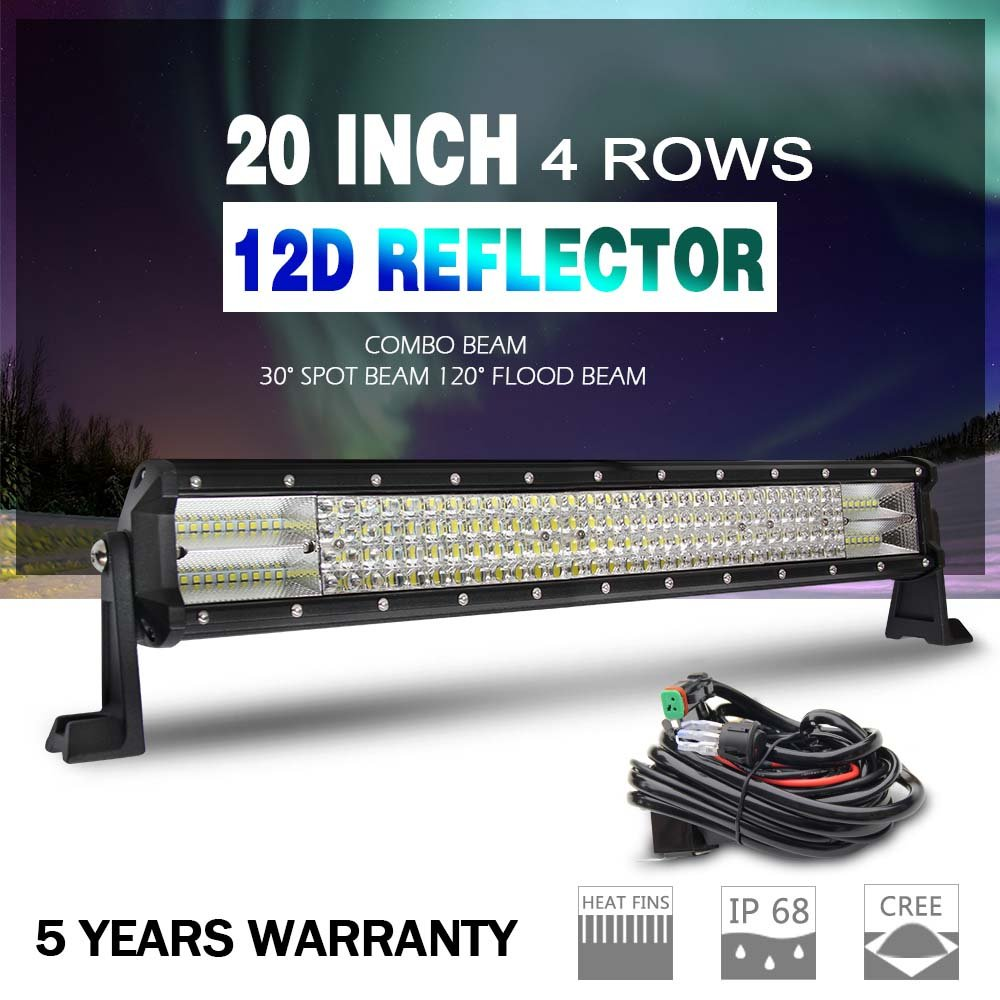 Cheap Led Flood Light Wiring Find Deals On Work Lights Get Quotations The Newled Bar 12d Cree 20 Harness Super Bright
