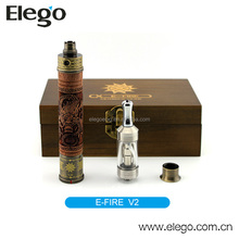 Elego in stock wholesale price genuine Vision wood v2 x-fire e cig