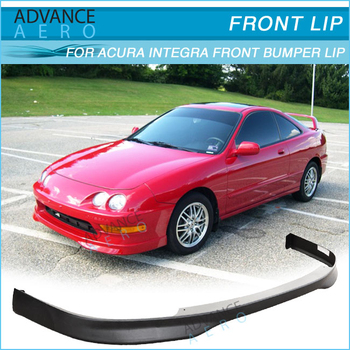 For Acura Integra Type R Style Pu Front Bumper Lip - 1997 acura integra front bumper