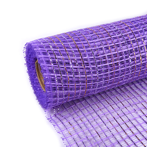 Green/purple Polyester Mesh Customized Waterproof Flower Wrapping Paper Roll DIY Scrapbook Decorative Crafts Paper