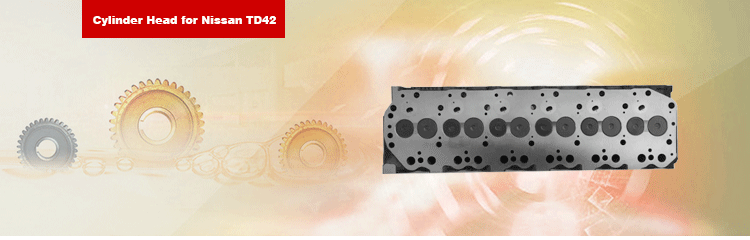 11039-06J00 TD42 Engine Cylinder Head Complete for Safari Pick up