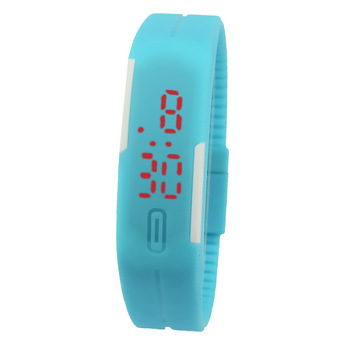Creative Fashion Touch China Digital Watch LED Light Up Students Unisex Wristwatch