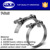 Competitive price SS304/316 T-bolt radiator hose clamp