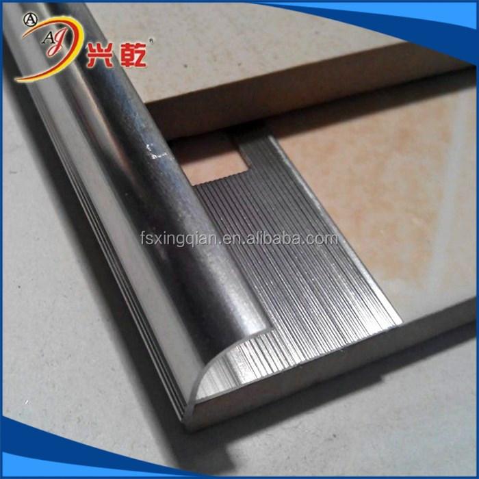 Elegant Series Good Quality Metal Ceramic Tile Trim Corner Edge