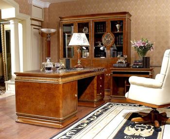 Design italien mobilier de bureau de luxe royal italien bureau de