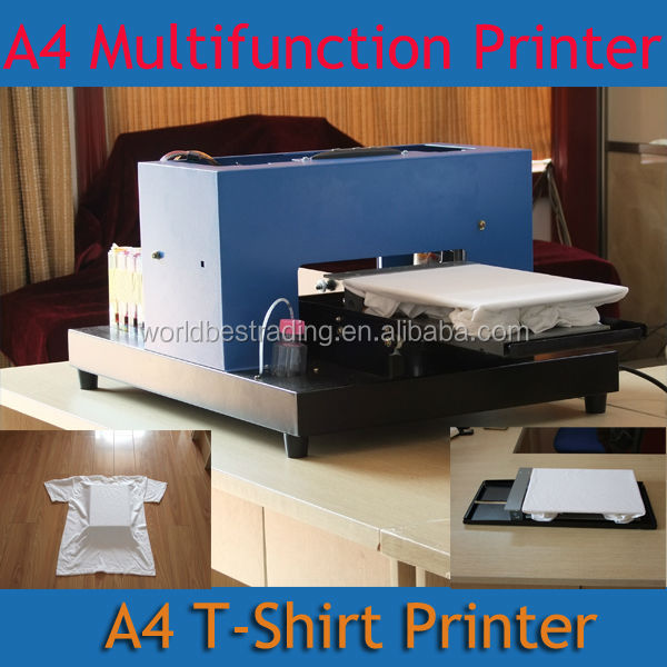 Stable T-Shirt Garment Printer DTG Flatbed Printer Multifunction Printer A4