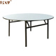 "HDPE Plastic 72"" Folding Round Banquet Table"