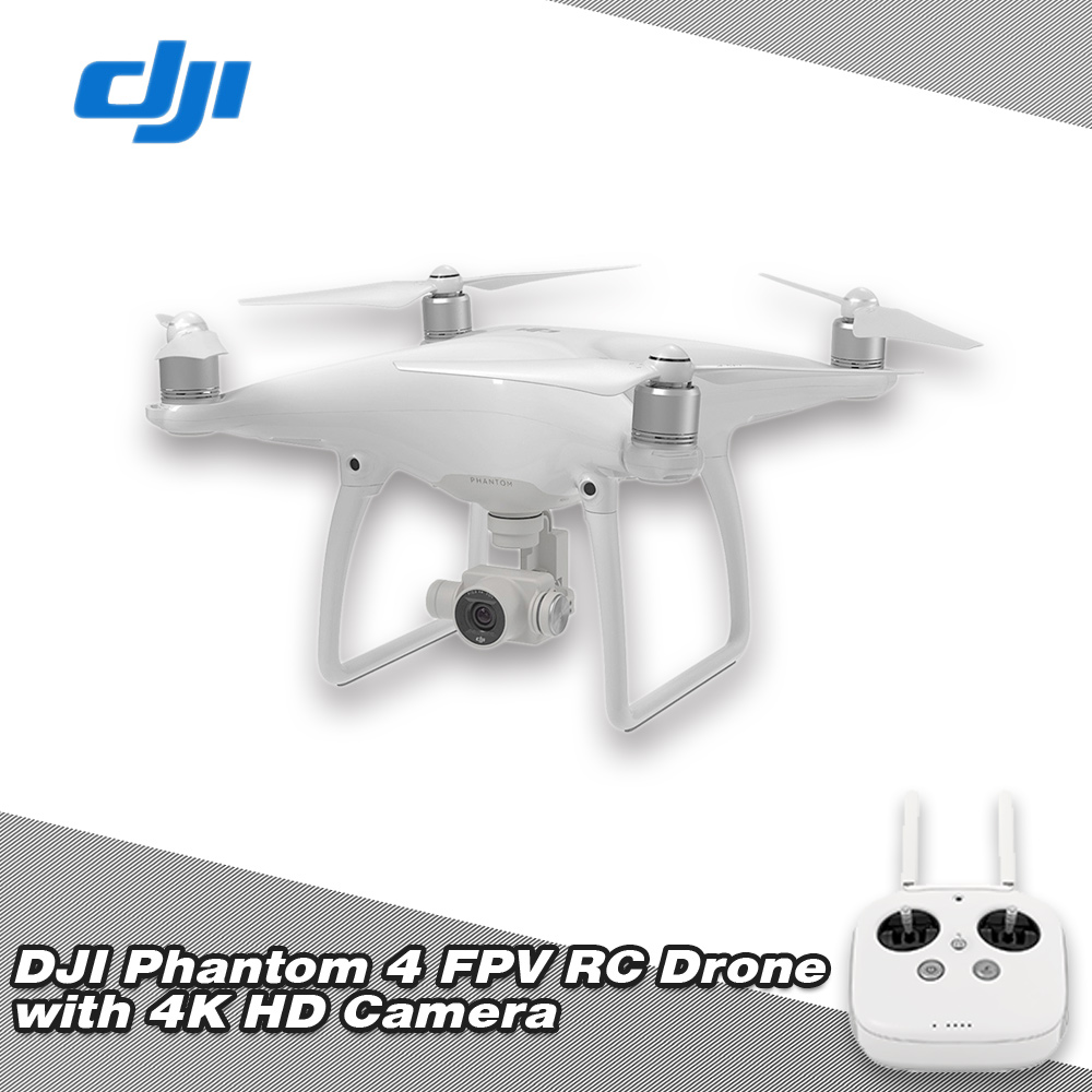 DJI Phantom 4 Drone Visionary Intelligence Elevated Drone with 1:10 Scale and Battery Power drone hd camera