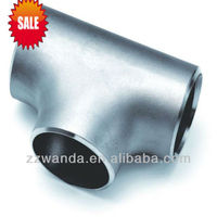 corrosion resistant Stainless Steel Seamless Socket Weld Pipe Tee