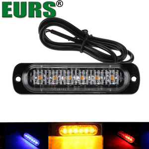 12V 18W IP67 6500K Factory direct sales hot sales car decorative lights small strips LED work lights