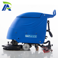 Hot Sale X6 Battery Type Commercial Walk Behind Small Manual Floor Scrubber Drier