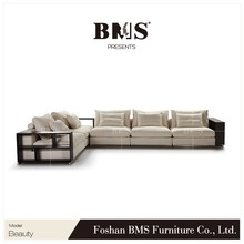 New style 5 years warranty fabric L shape latest sofa bed design