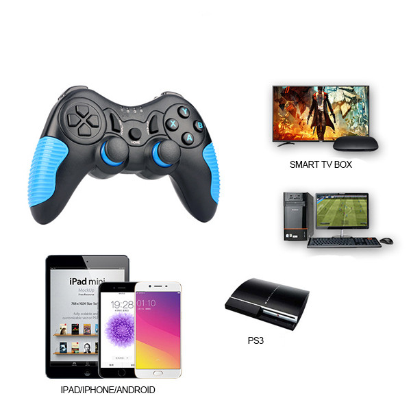 OEM Bluetooth Game Controller untuk Android/Ios/PC/PS3 Game Mobile STK-7021X