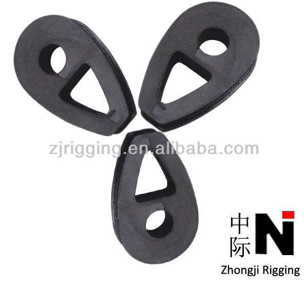 20mm DIN 3091 Ductile Iron Malleable Wire Rope Thimbles Manufacturer