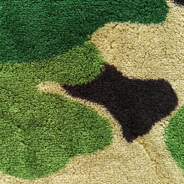 Stock Print Coral Fleece Binding Minky Baby Blanket
