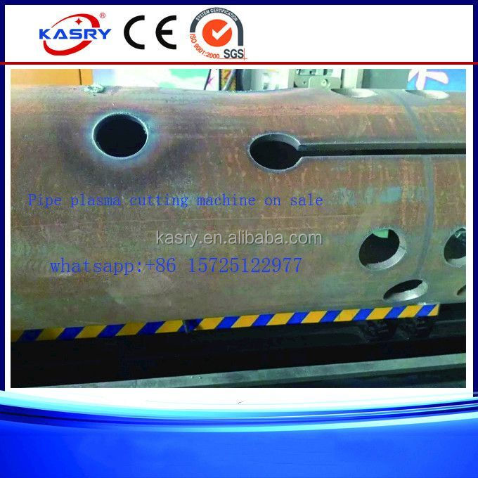 8 Axis Space Lap Tube Plasma Cutter And Beveling Metal Fabric Machinery
