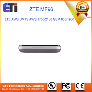 4G LTE ZTE MF96 High Speed Wireless Router Power Bank with LAN port/SIM  Card Slot