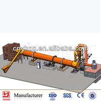 Yuhong wood chips dryer equipment/woodchip/sawdust drying line design