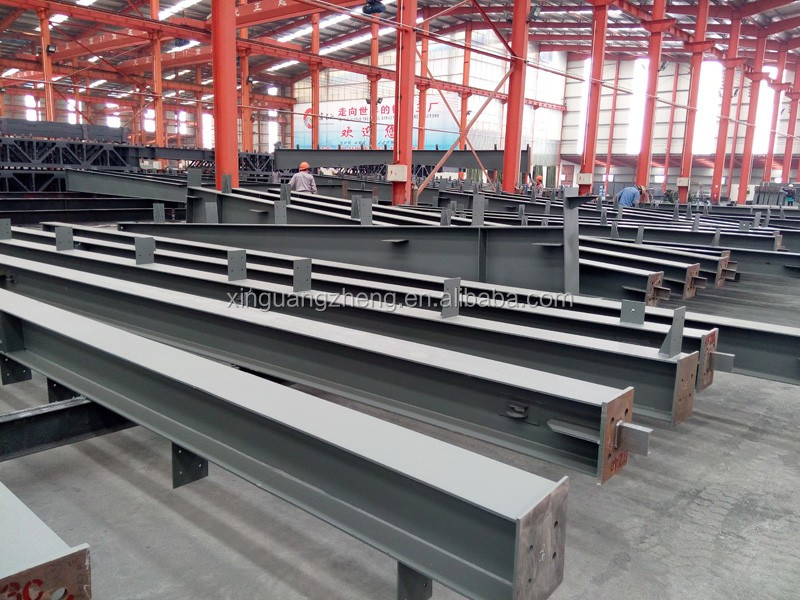 light steel structure building warehouse made in China