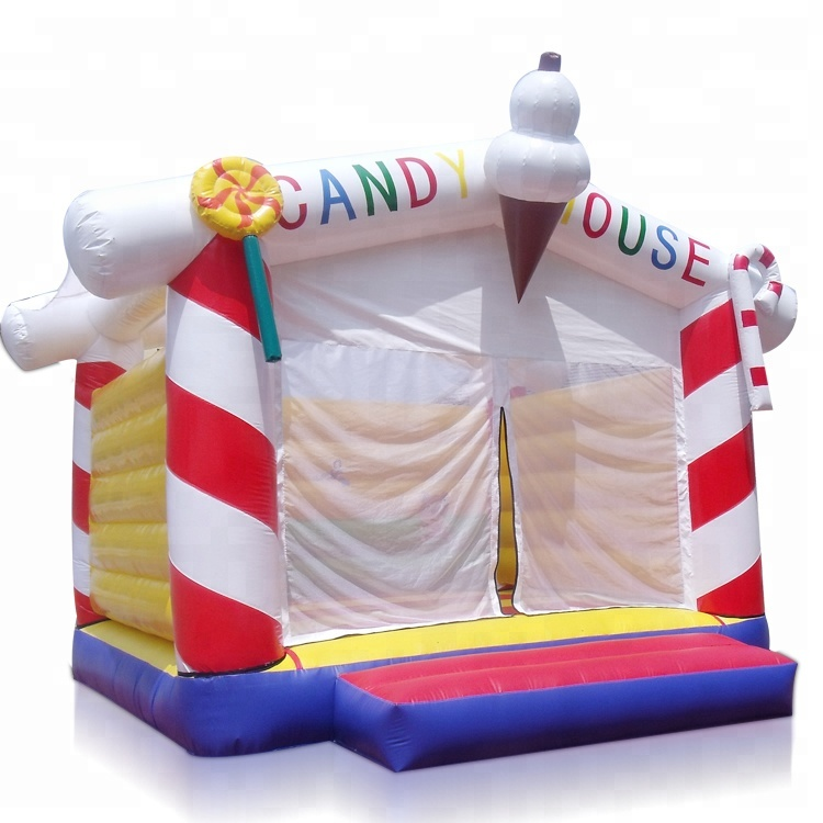 Hot Selling Commercial Cheap Small Bouncy Castle With Slides Bounce Castle Inflatable