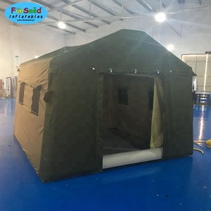 China Wholesale military green airtight pipe camping tent for sale