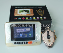 eletronic home alarm system,door bell camera, LCD peephole viewer