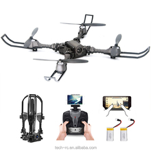 i5 WiFi 2.4GHz 4CH 6-Axis Gyro Foldable Parrot Drone With Camera