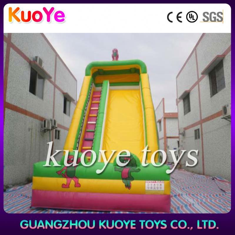 inflatable slide trampoline with EN71