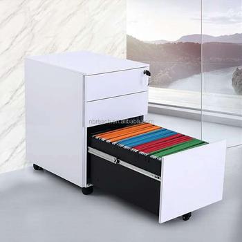 Office Furniture Metal 2 Drawer Steel Index Card File Cabinet