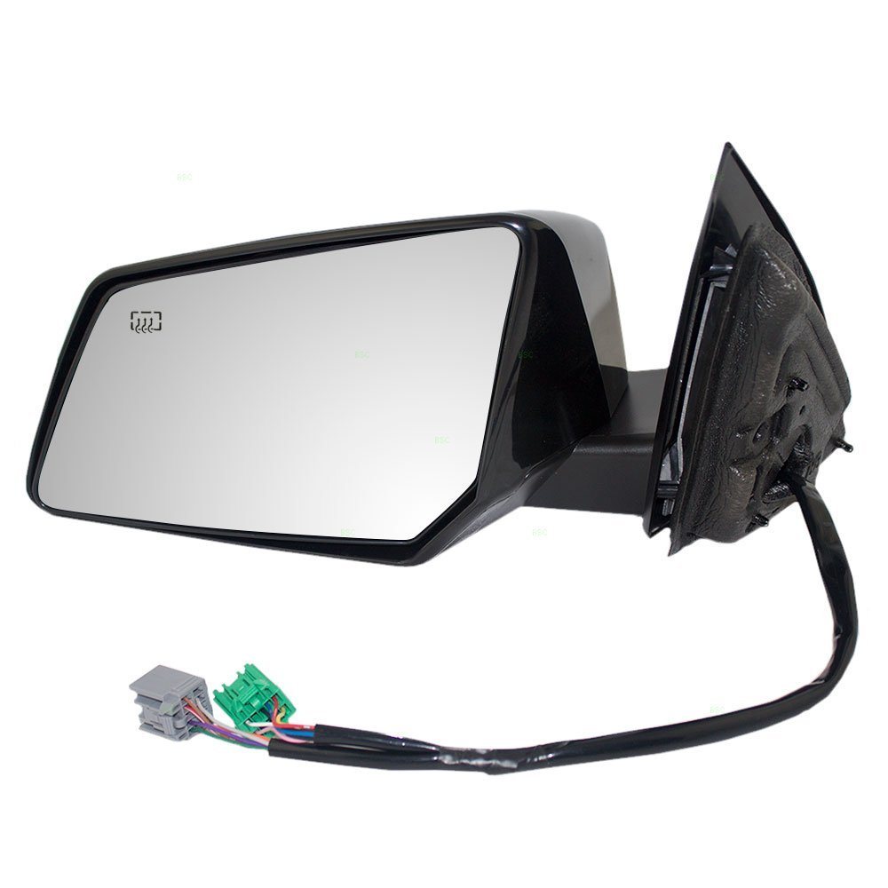 Drivers Power Side View Mirror Heated Memory Signal Power Folding Replacement for Chevrolet GMC Saturn SUV 25883677