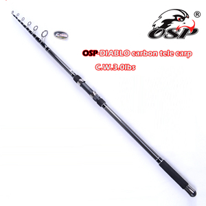 Top sale super quality pure carbon material carp fishing rod from China