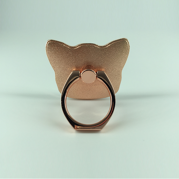 manufacturer golden and rose gold 360 degree phone holder ring stand