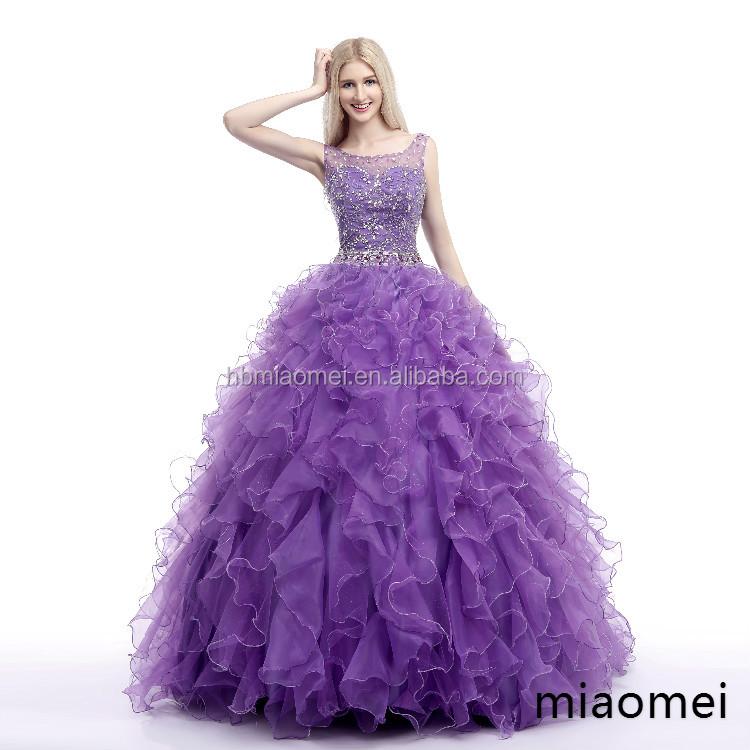 Großhandel hochzeitskleid lila Kaufen Sie die besten hochzeitskleid ...