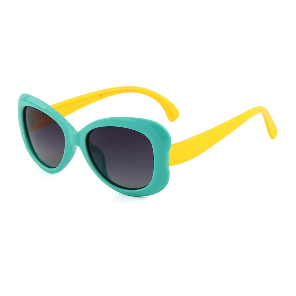 8d0ca0ca0ab5 New Children Multi Color silicon kids glasses UV400 custom logo kid  polarized sunglasses 2018