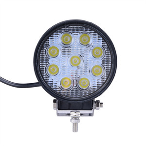 Hot sale round 4inch 27w 12v dc led tractor work light