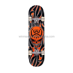 9 Plies Chinese Maple deck wholesaler skateboard