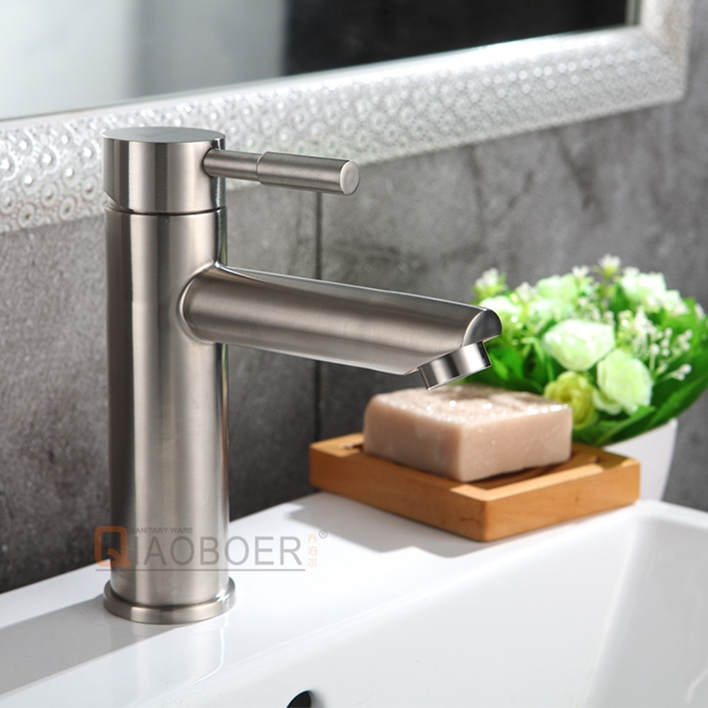 New arrival basin portable mixer,nickel brushed wash hand basin tap,brass deck mounted cheap faucet
