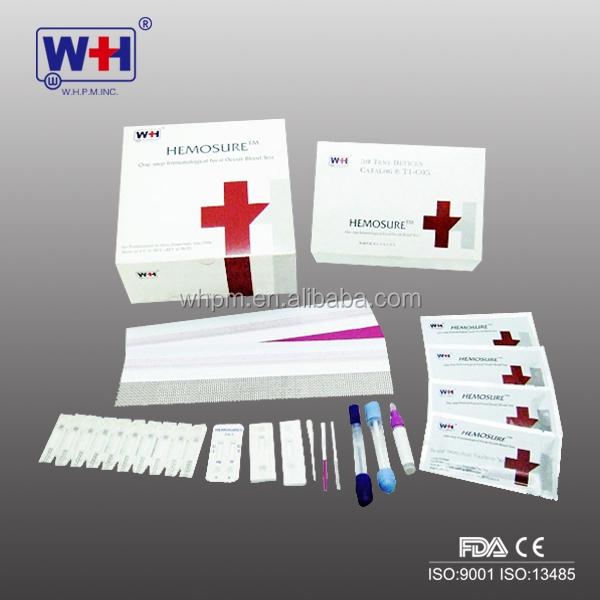 Test sangre oculta en heces inmunologico