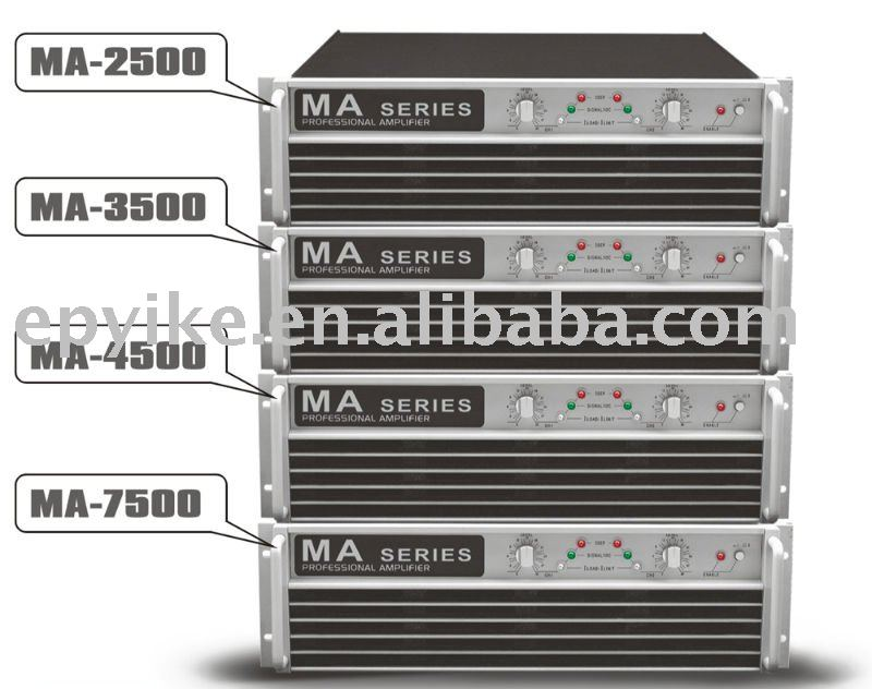 MA Series - Professional Sound System Power Amplifier