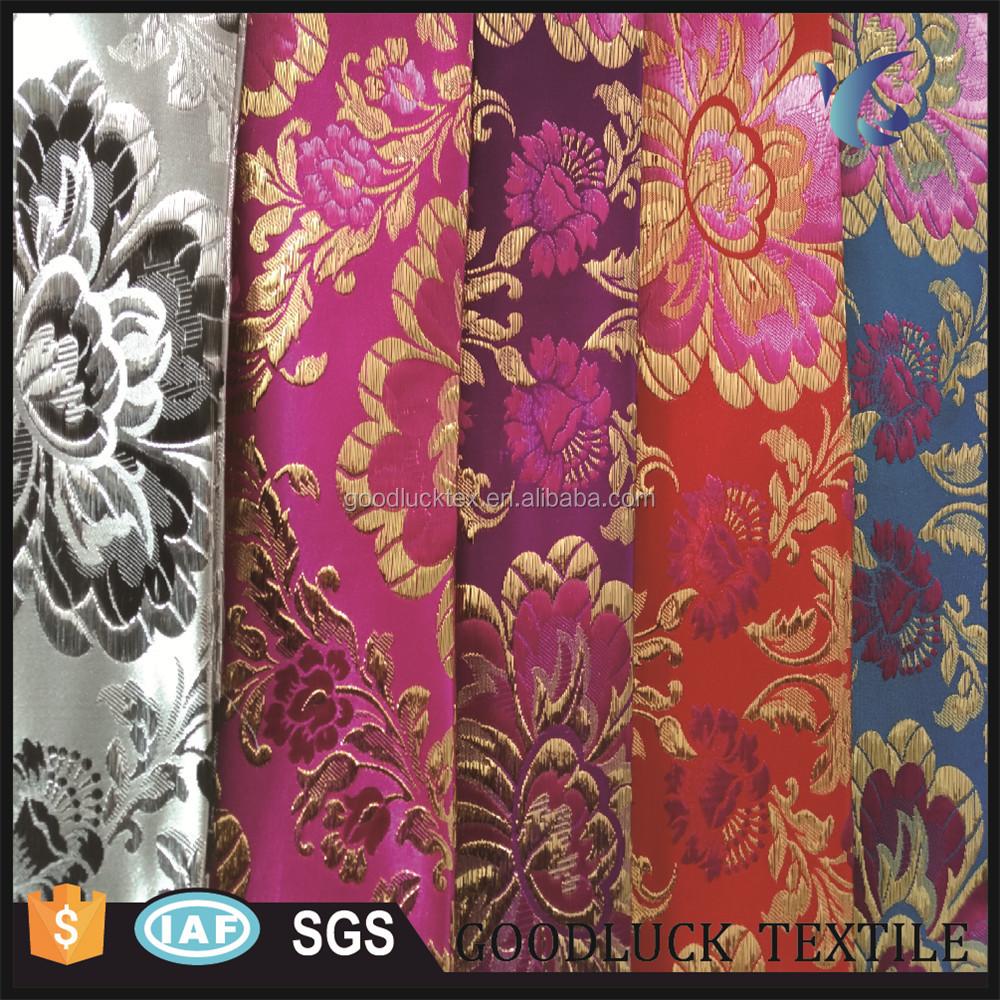 Gold Yarn Wholesale Damask Upholstery Fabric Buy Wholesale