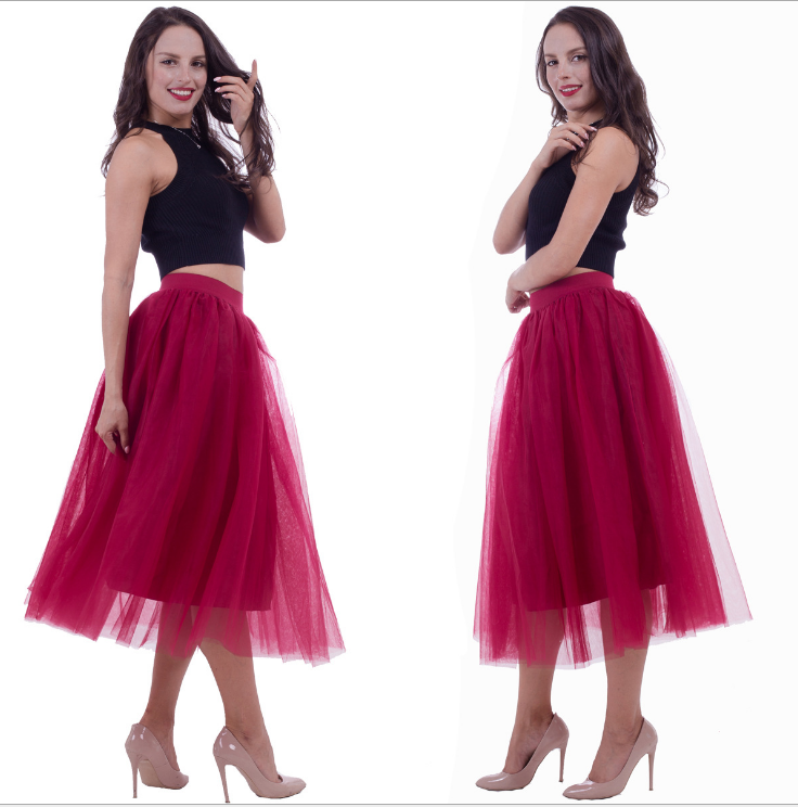fluffy party tutu for woman wholesale adult long tutu skirt