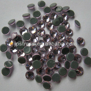 round 30mm flatback rhinestones for clothes or shoes