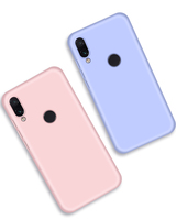 2019 LUXURY HIGHT QUALITY SUMMER CANDY COLOR SILICONE CASE PHONE BACK COVER FOR REDMI NOTE 7