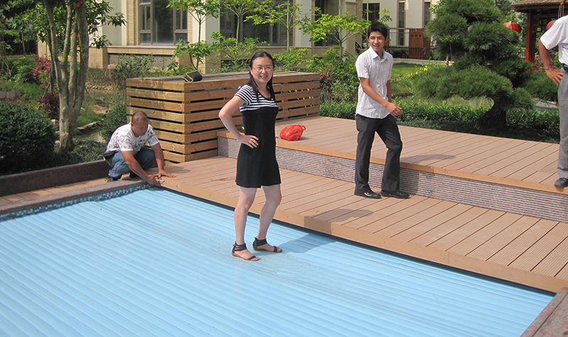 Whole Safety Outdoor Swimming Pool Cover