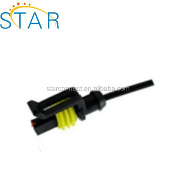 1 Pin AMP Electrical Connector Plug wire_350x350 1 pin amp electrical connector plug wire harness pigtail 282079 2