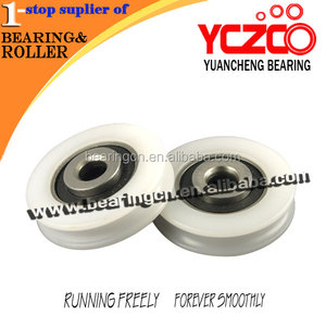 Good quality Chinese carbon roller/sliding door fitting caster pulley
