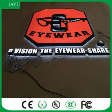 New design Waterproof acrylic led lighting 3d letter signboard with factory wholesale price