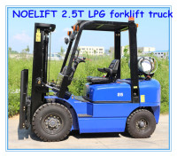 LPG petrol gas propane nissan engine car lifter machine 2.5T forklift truck