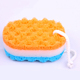 Fashion colored absorbent soap dispenser seaweed natural sea foam bath sponge