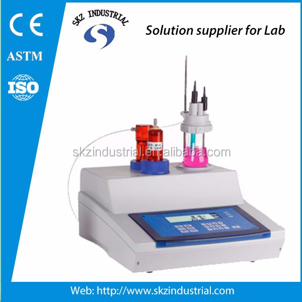 Digital automatic potential titration ph/mv tester
